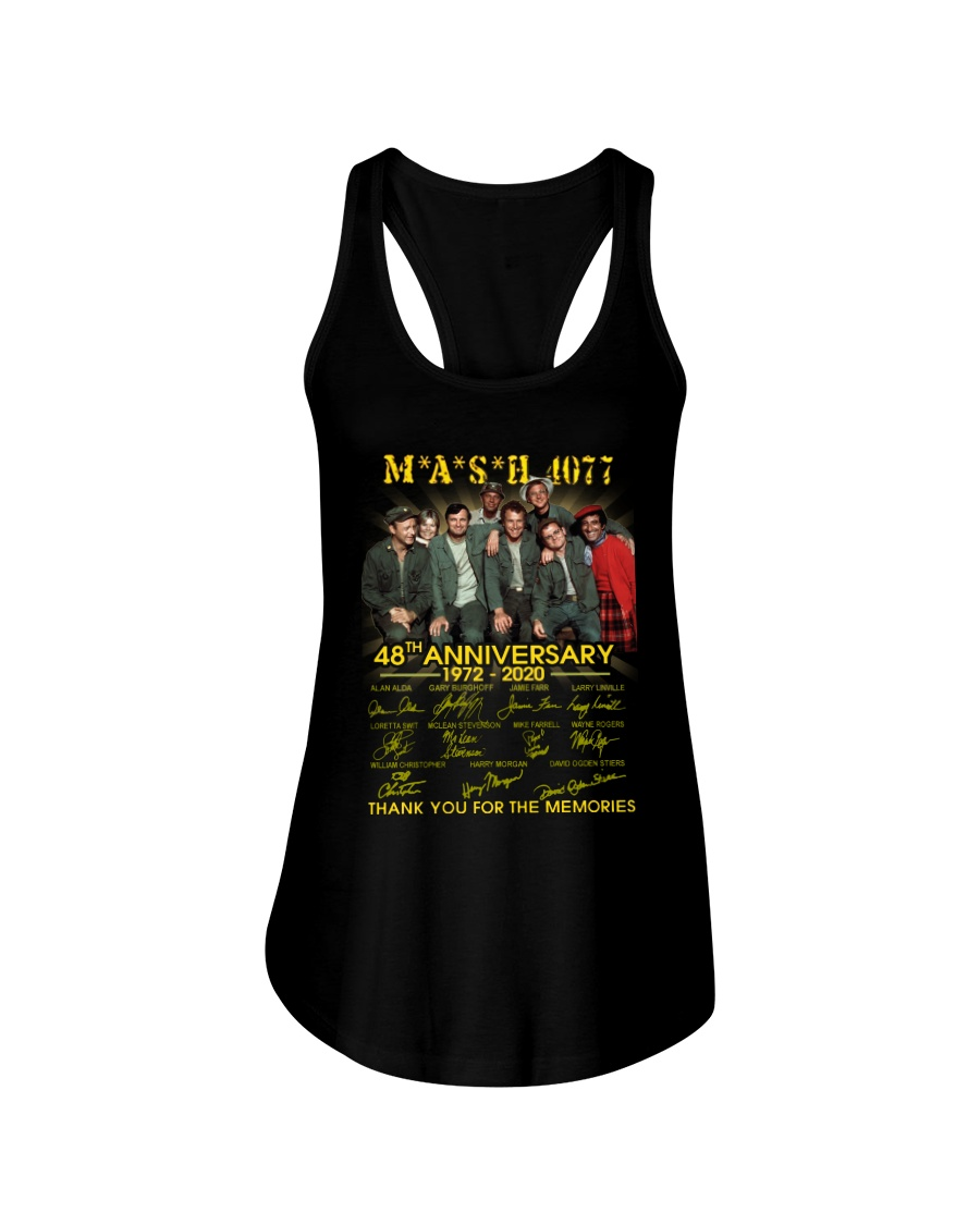 Mash 4077 48th anniversary thank you for the memories Flowy Tank
