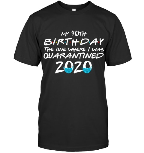 My 40th birthday the one where I was quarantined 2020