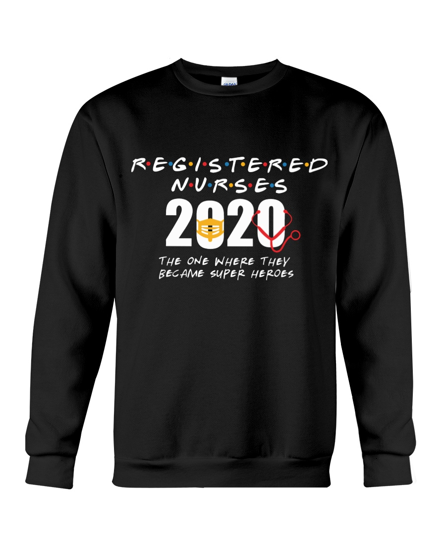 Registered nurses 2020 the one where they became super heroes
