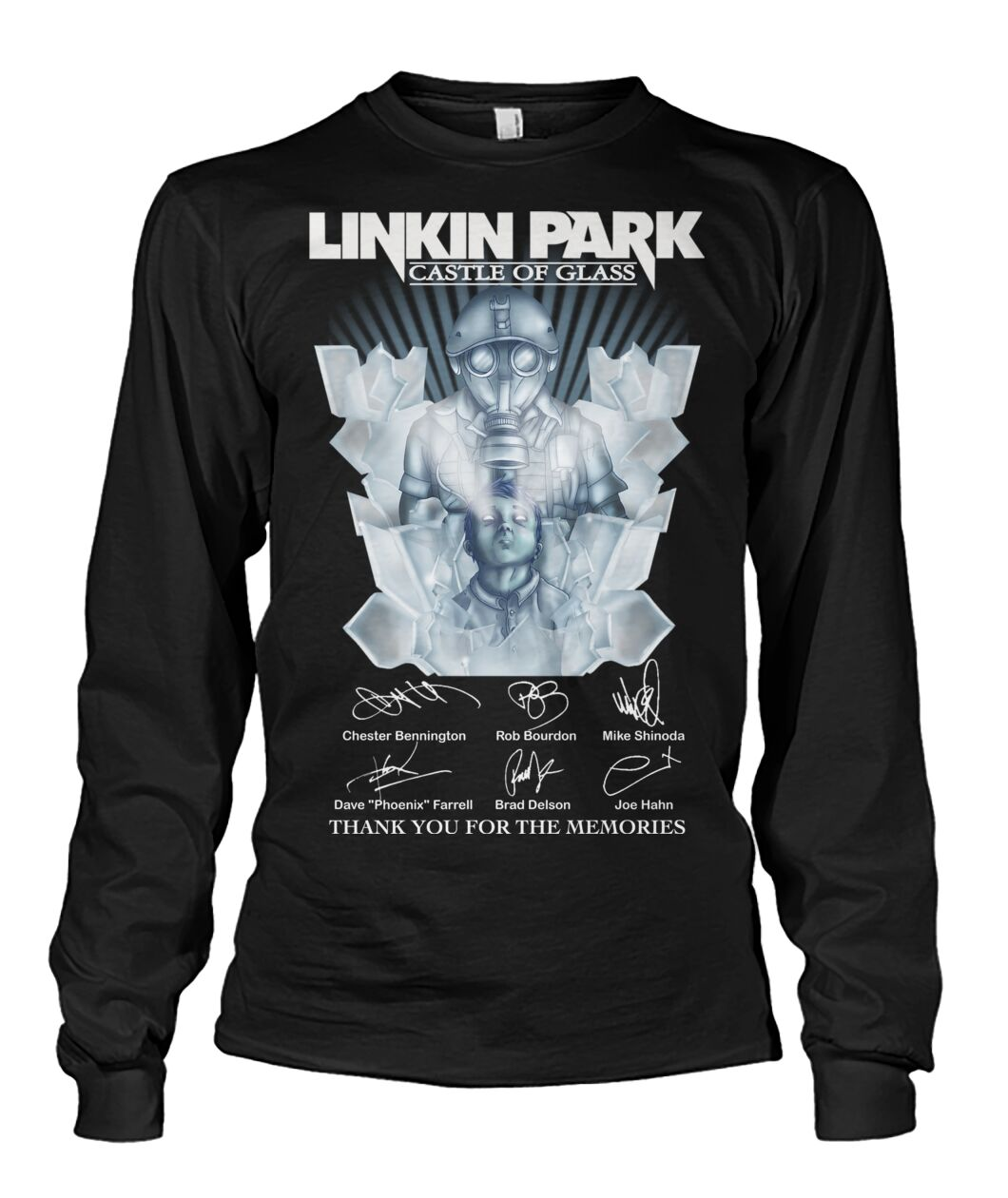Linkin park castle of glass thank you for the memories