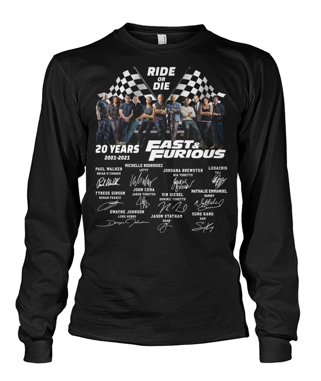Ride or die Fast & furious signature