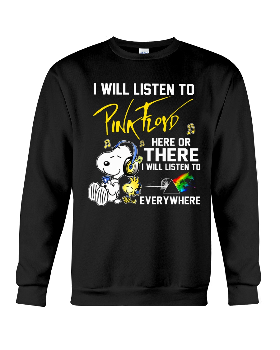 Snoopy I will listen to pink floyd here or there
