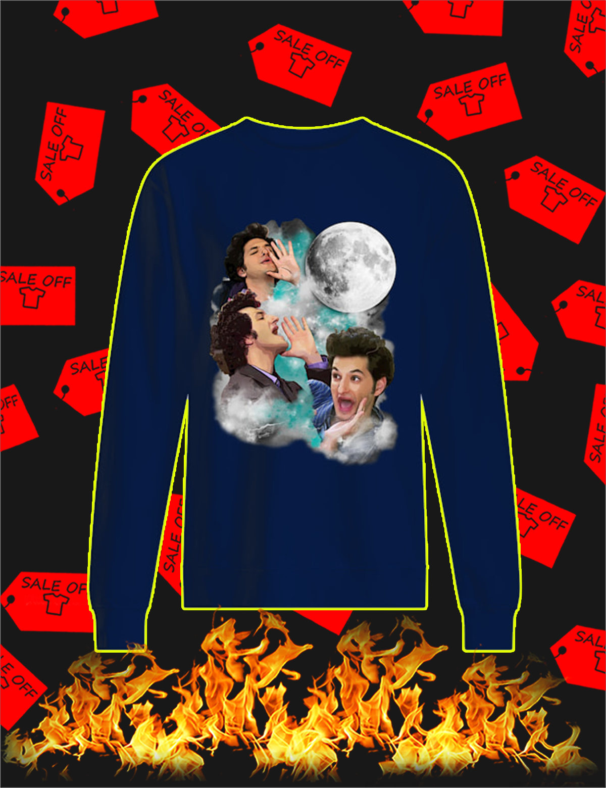 The woooorst jean ralphio three moon Sweatshirt