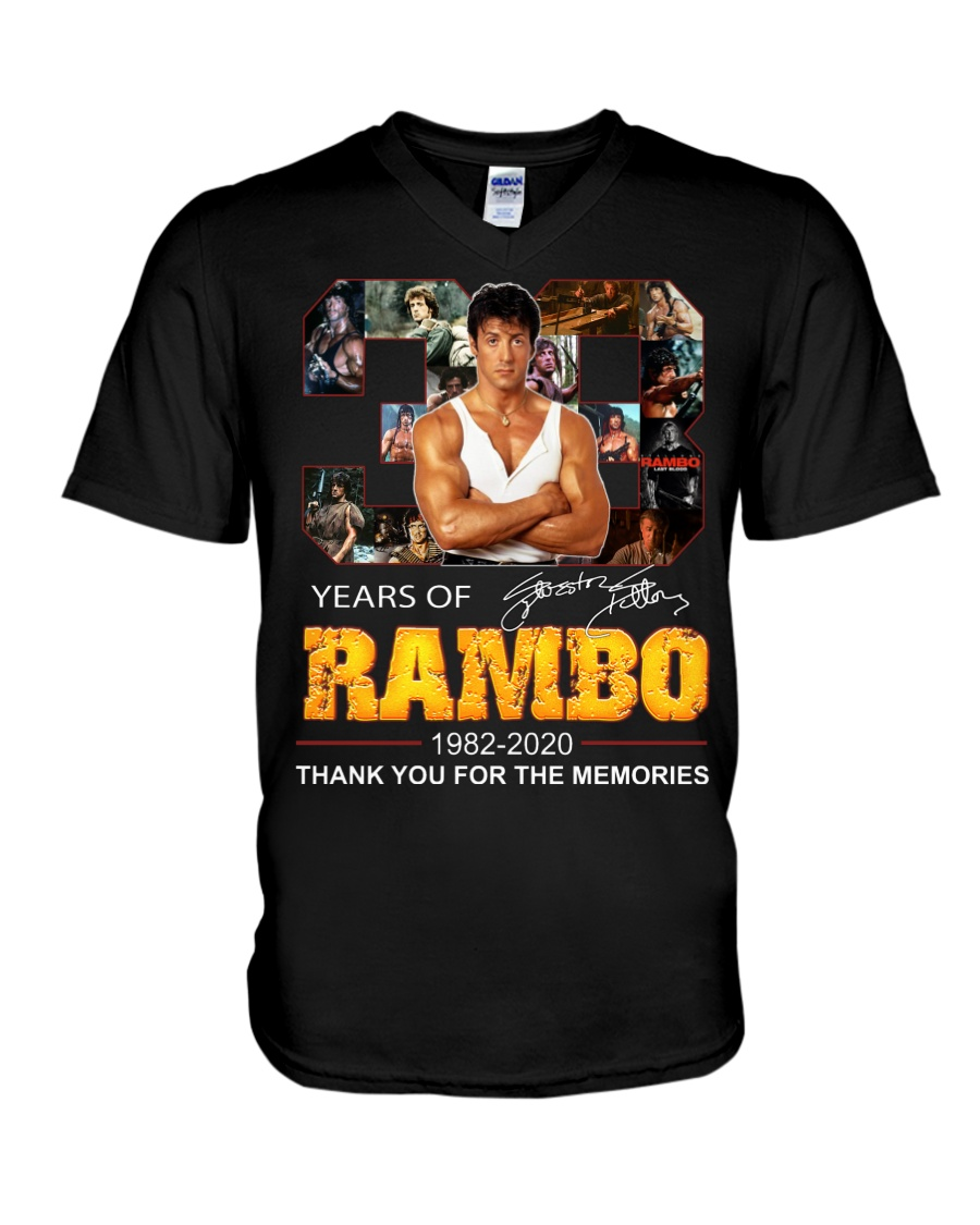 38 years of rambo thank you for the memories
