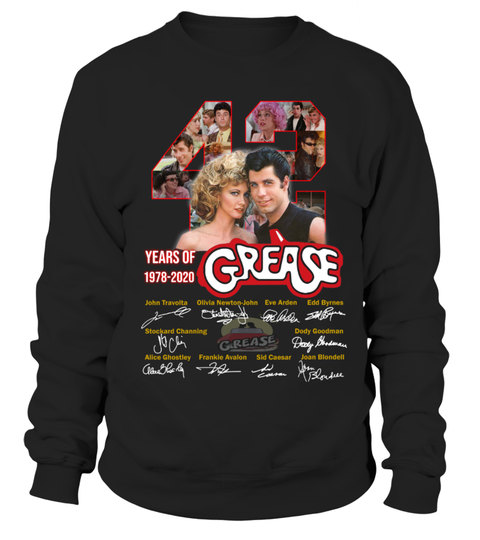 42 years of grease 1978 2020 signature