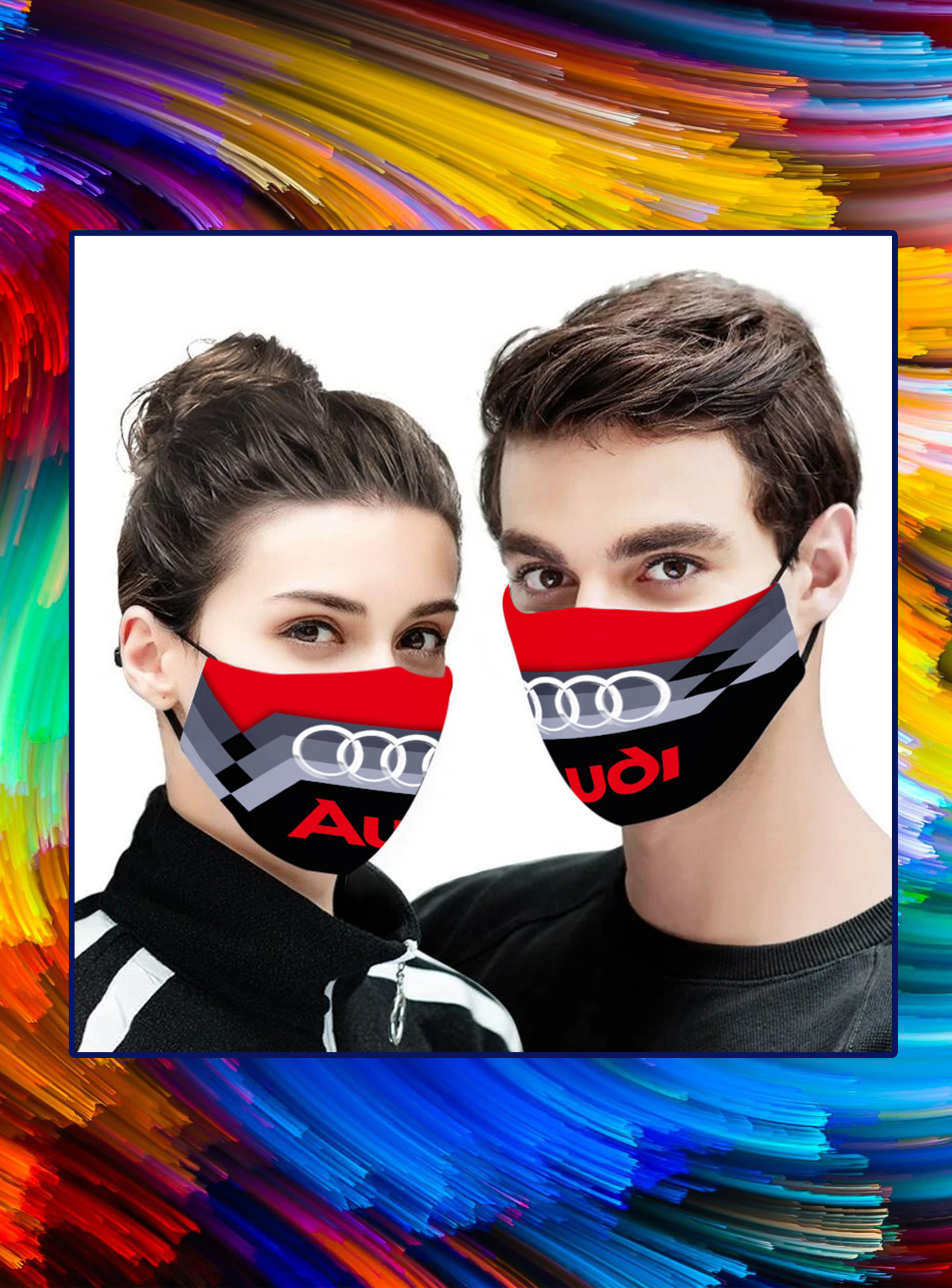 Audi face mask - pic 1