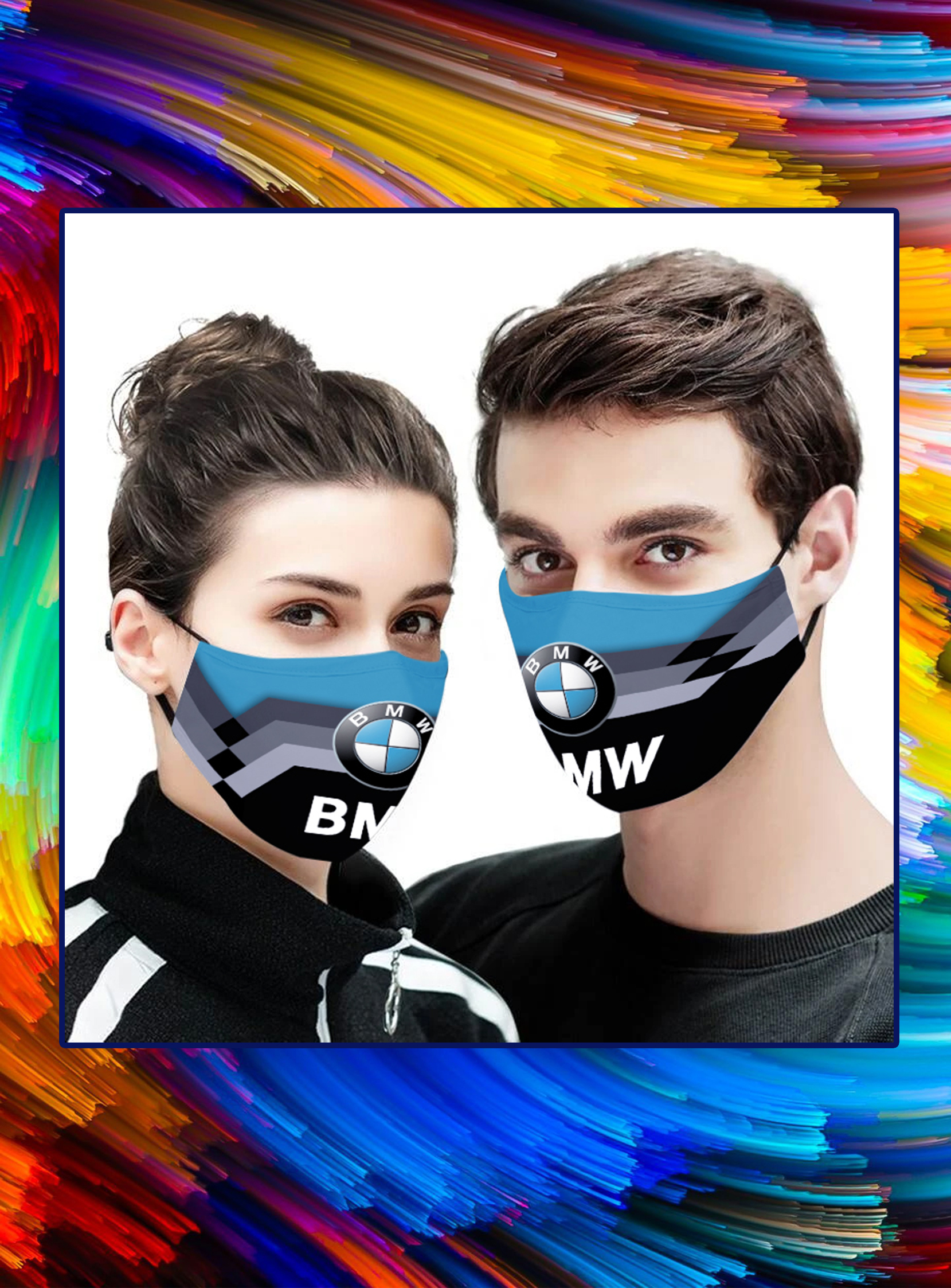 BMW face mask - pic 1