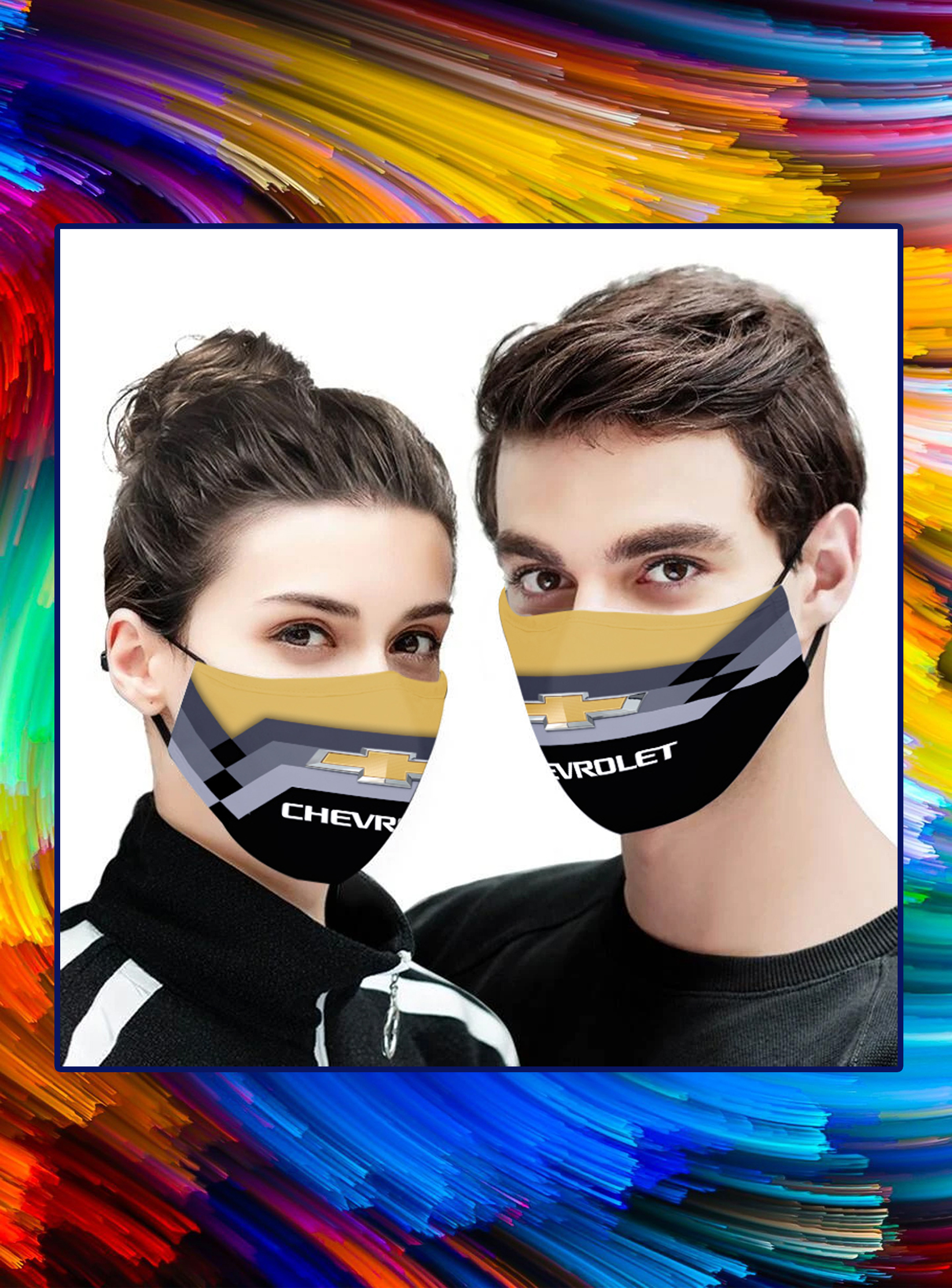 Chevrolet face mask - pic 1