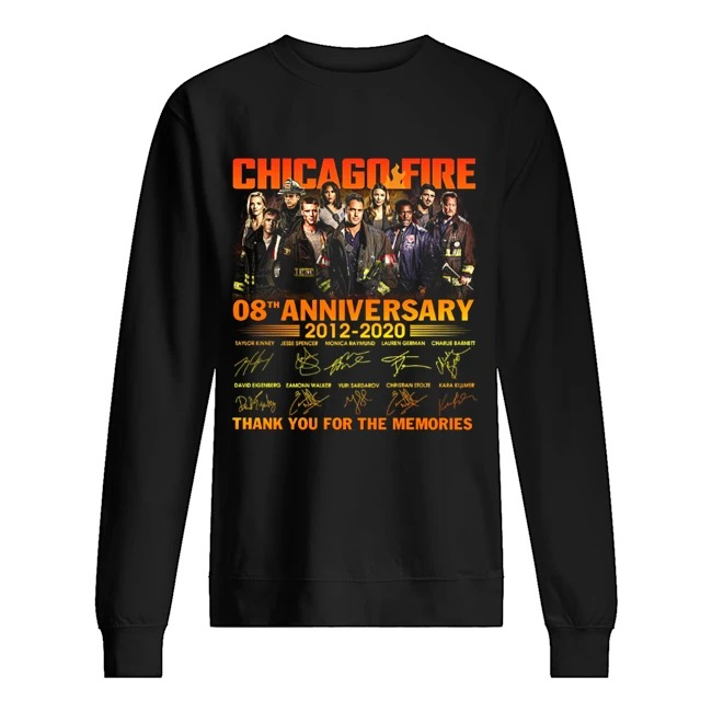 Chicago fire 8th anniversary thank you for the memories