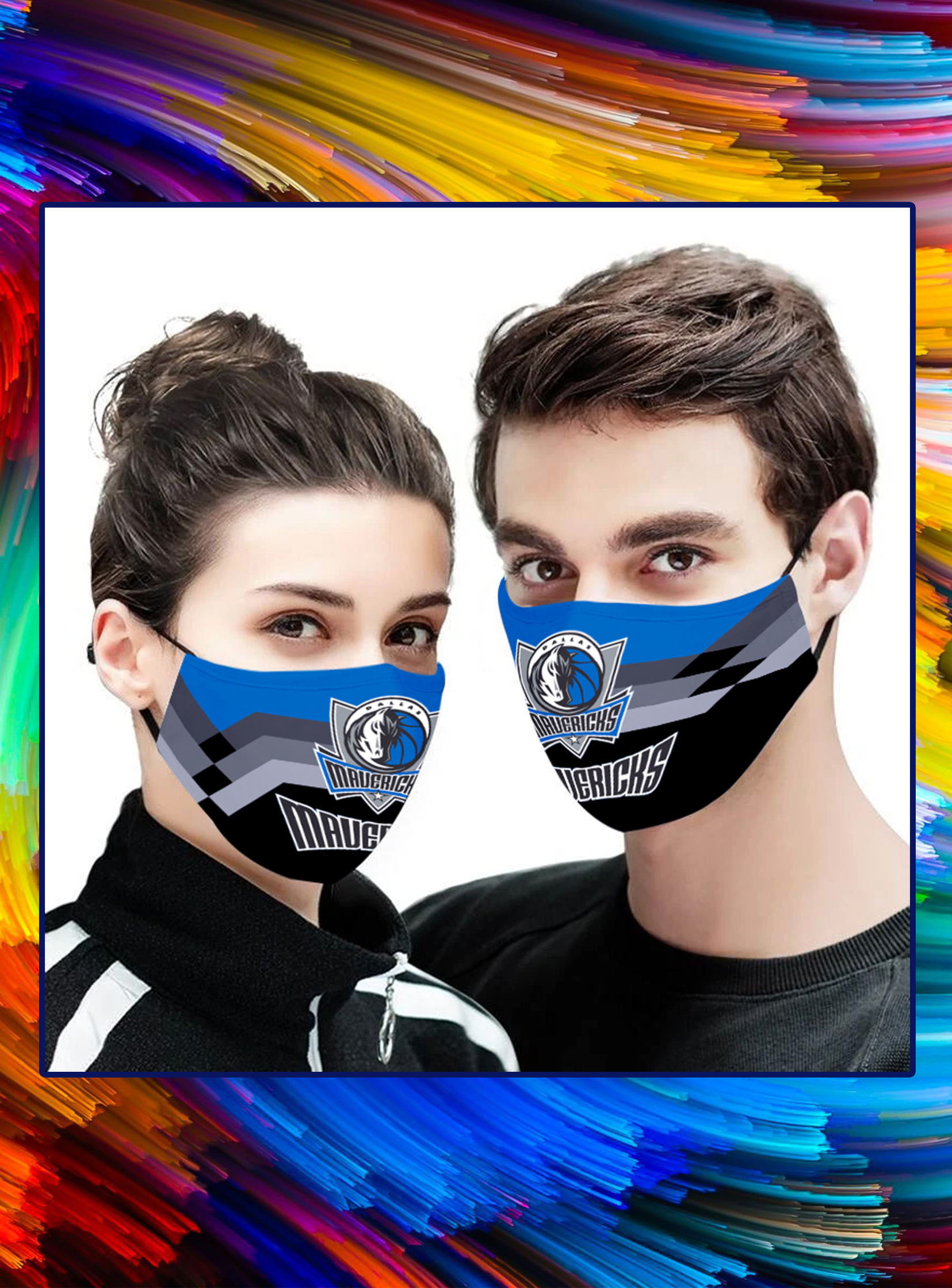 Dallas Mavericks 3d face mask - pic 1