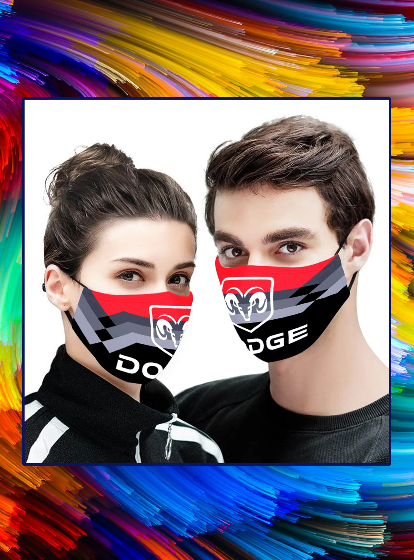 Dodge 3d face mask - pic 1