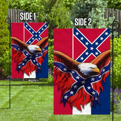 Eagle Mississippi Confederate American History Flag