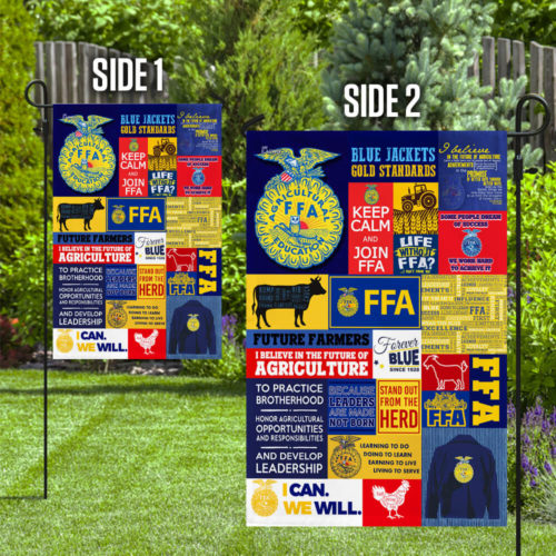 Ffa furure farmer of america flag