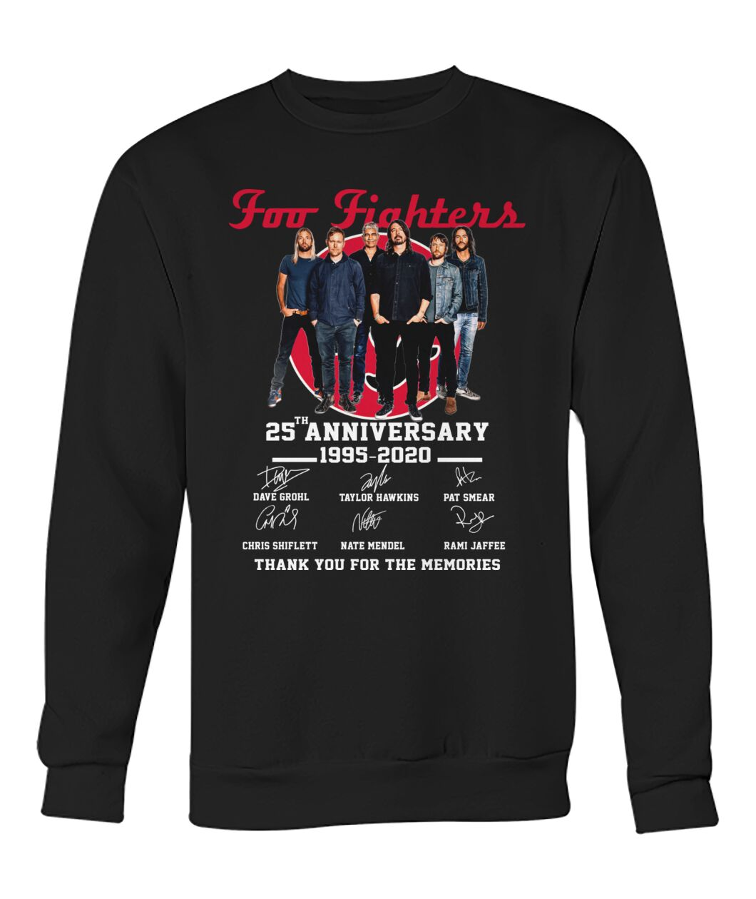 Foo fighters 25th anniversary thank you for the memories
