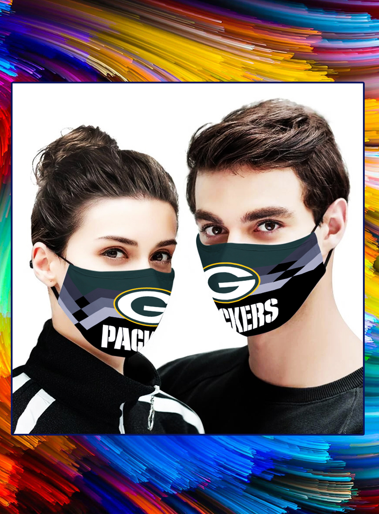 Green bay packers face mask - Picture 1
