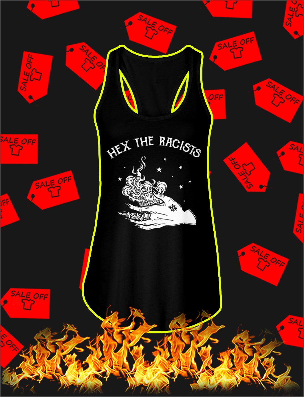 Hex the racists tank top