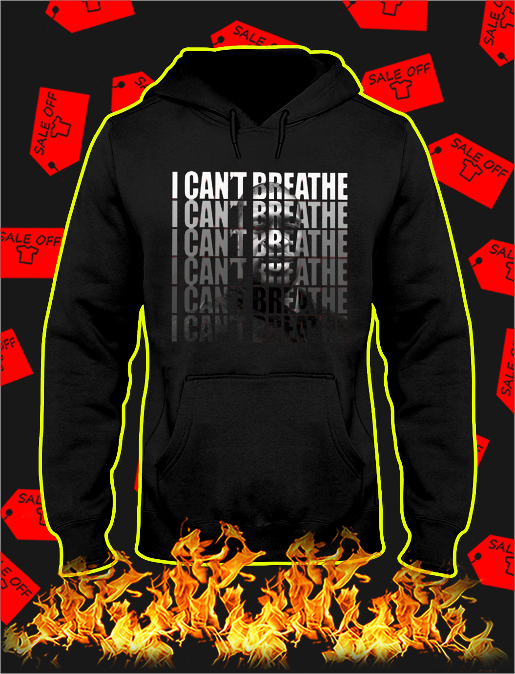 I can't breathe i can't breathe hoodie