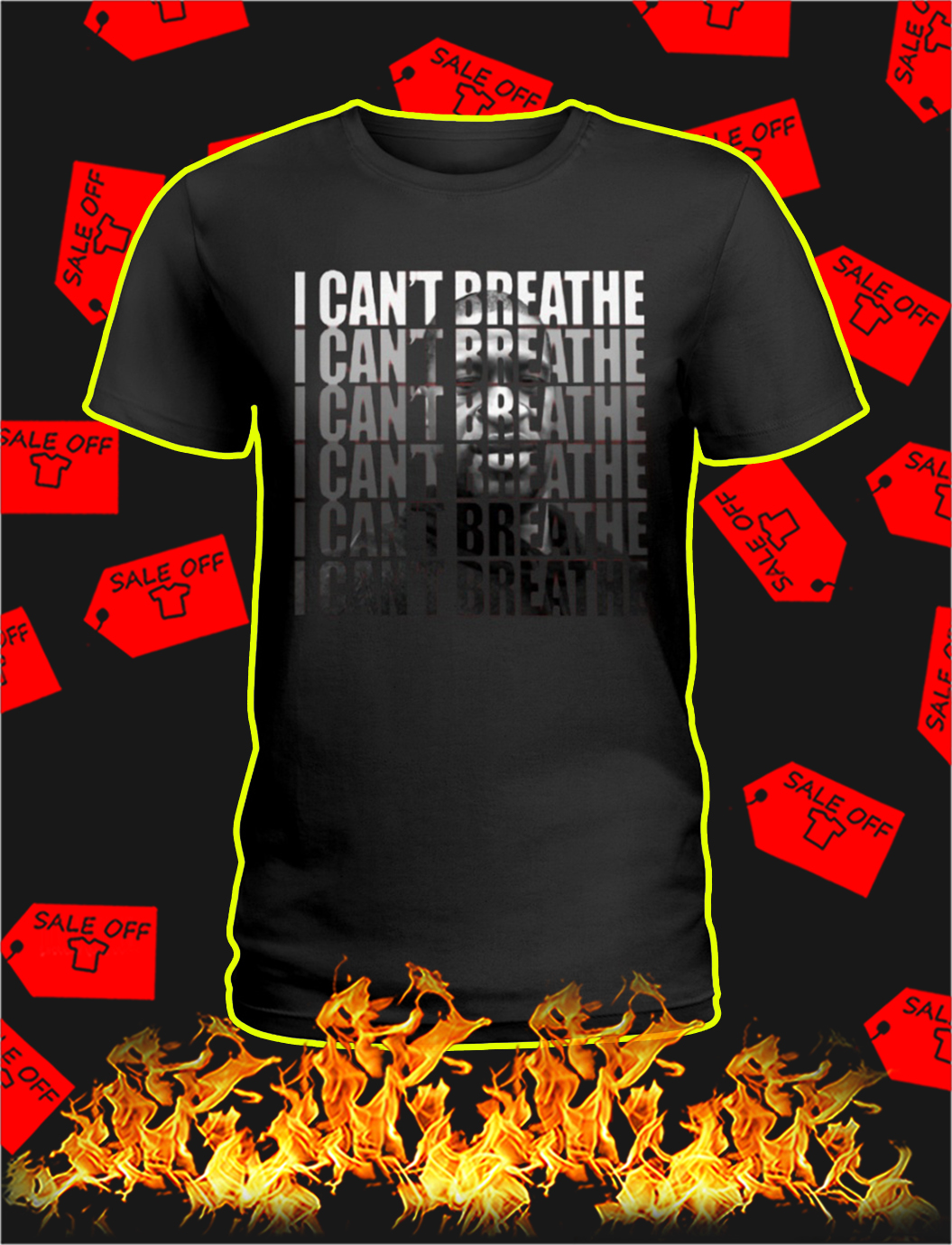 I can't breathe i can't breathe lady shirt