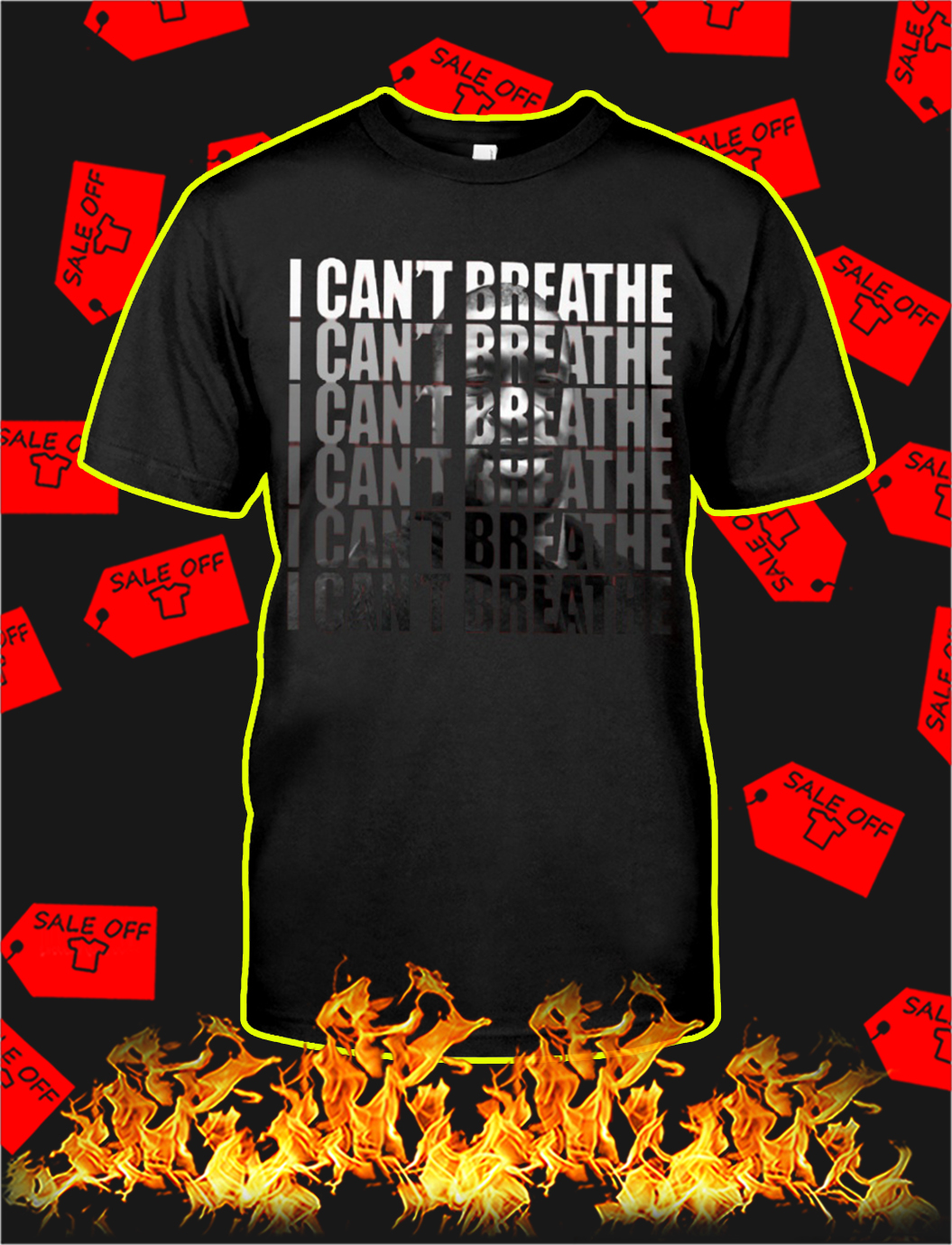 I can't breathe i can't breathe shirt