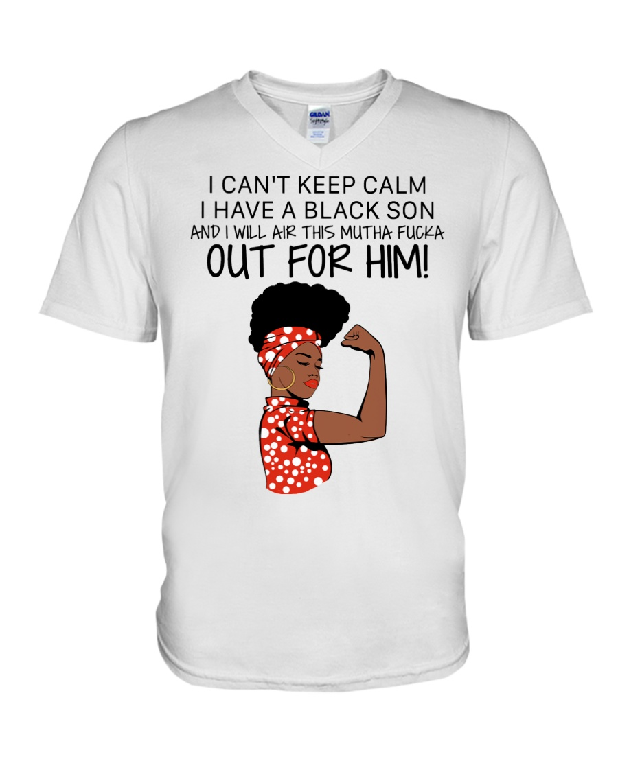 I can't keep calm I have a black son and I will air this mutha fucka out for him
