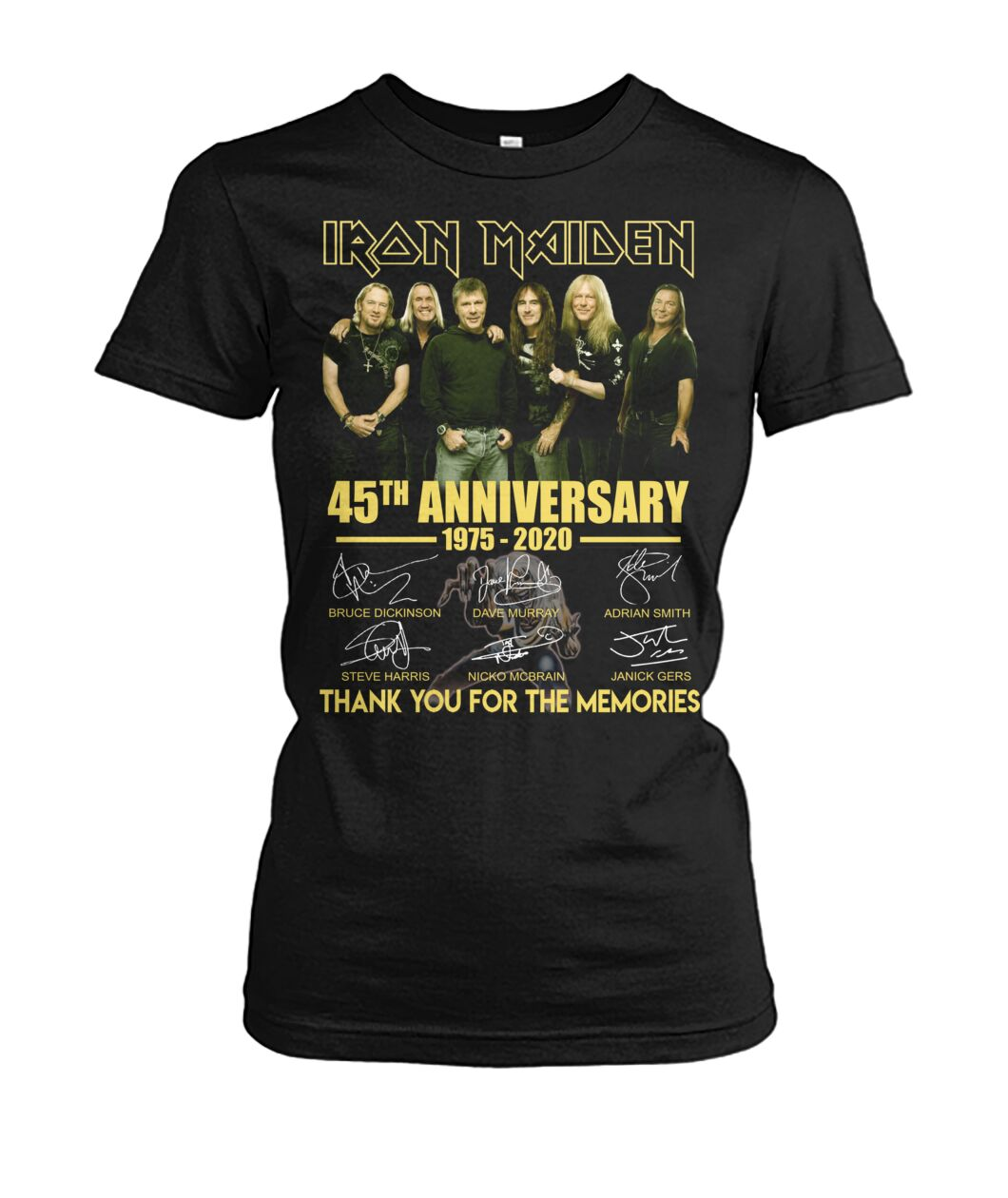 Iron maiden 45th anniversary thank you for the memories