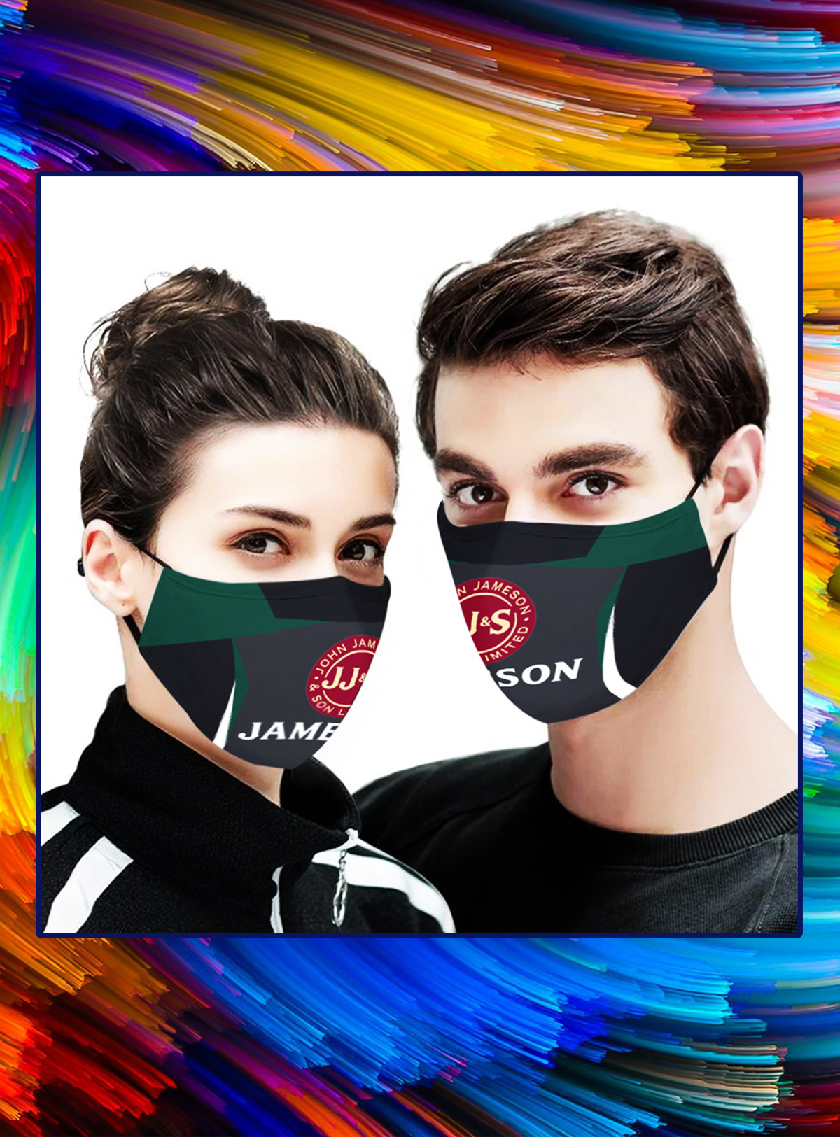 Jameson face mask - Picture 1