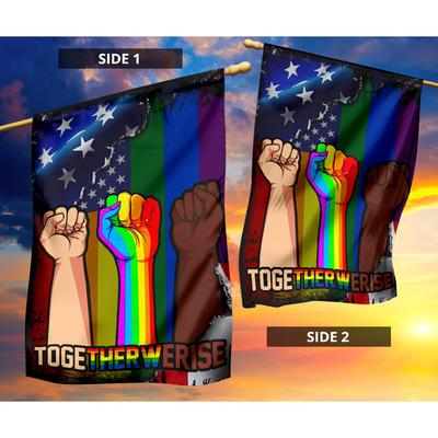 LGBT Togetherwerise flag