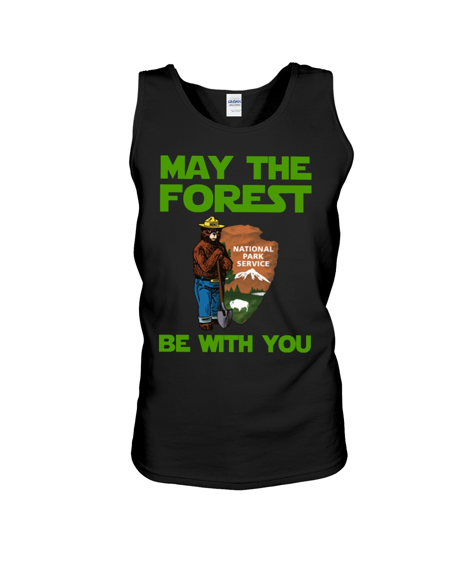May the forest be with you national park service tank top