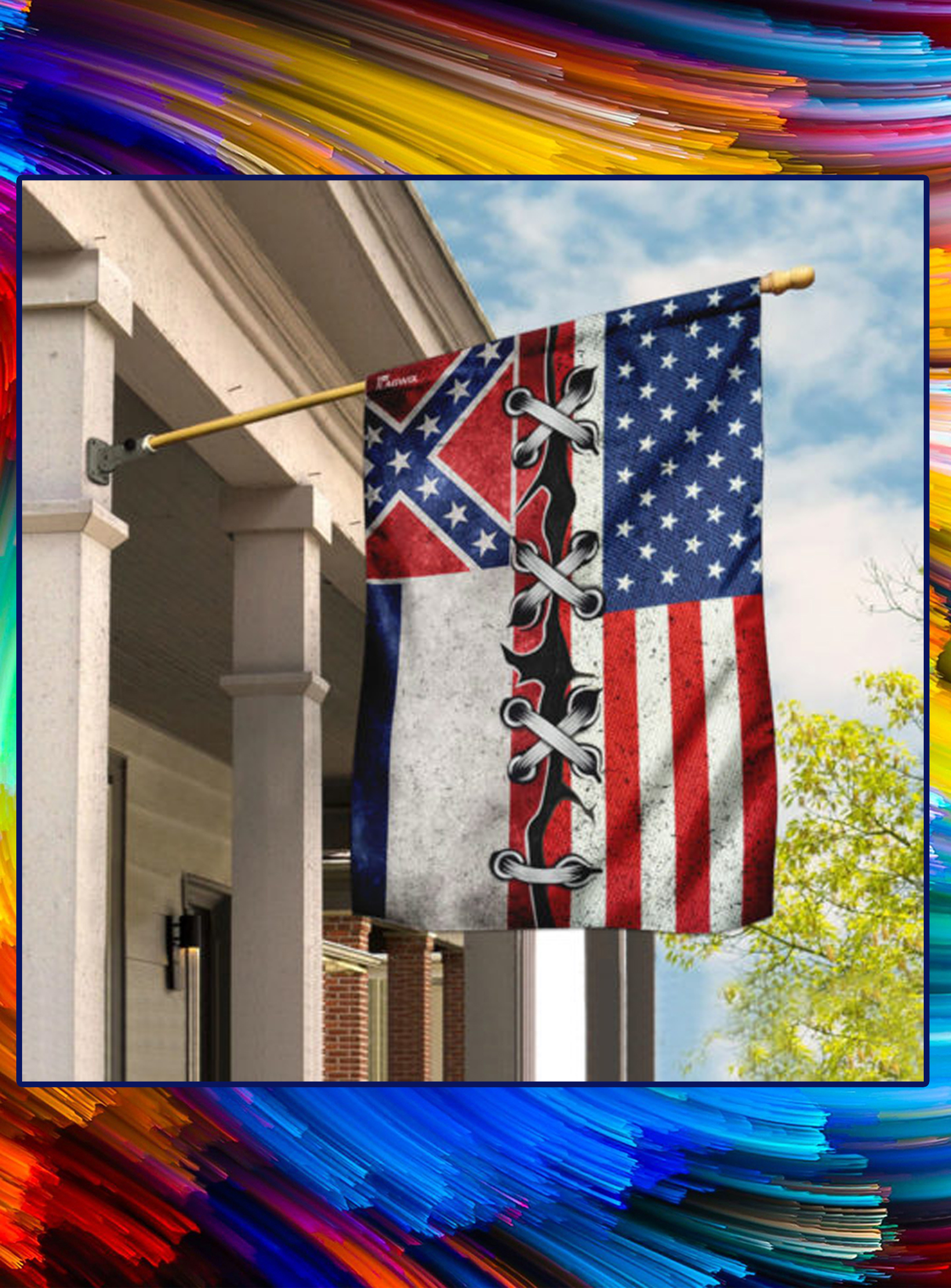 Mississippi And American Flag - pic 1