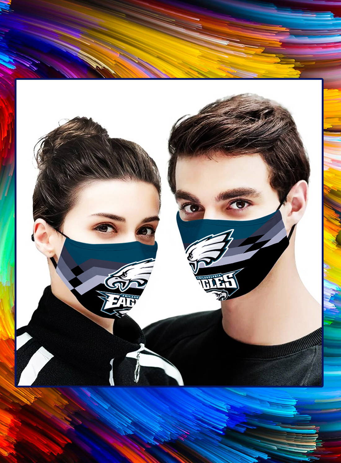 Philadelphia eagles face mask - Picture 1