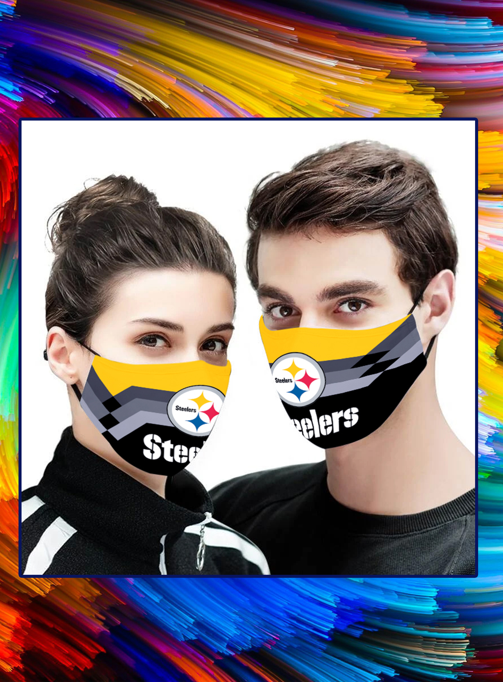 Pittsburgh steelers 3d face mask - pic 1