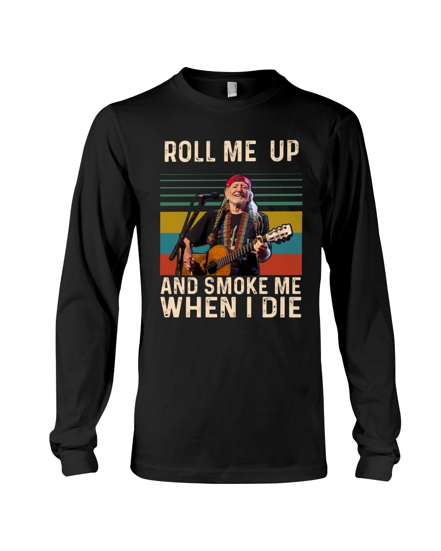 Roll me up and smoke me when I die willie nelson vintage