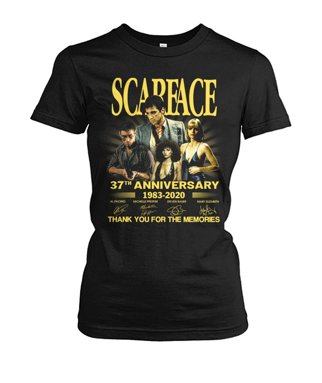 Scarface 37th anniversary thank you for the memories