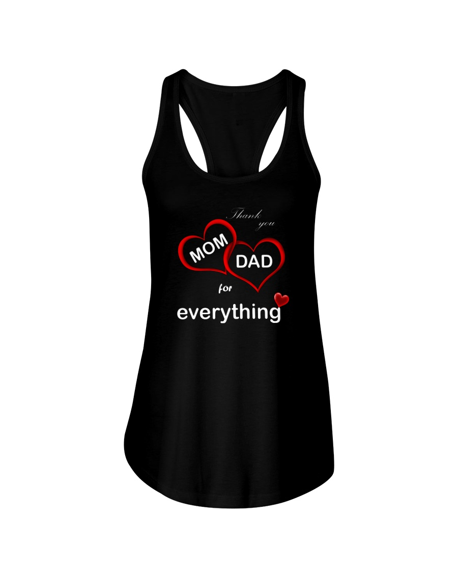 Thank you mom dad for everything flowy tank