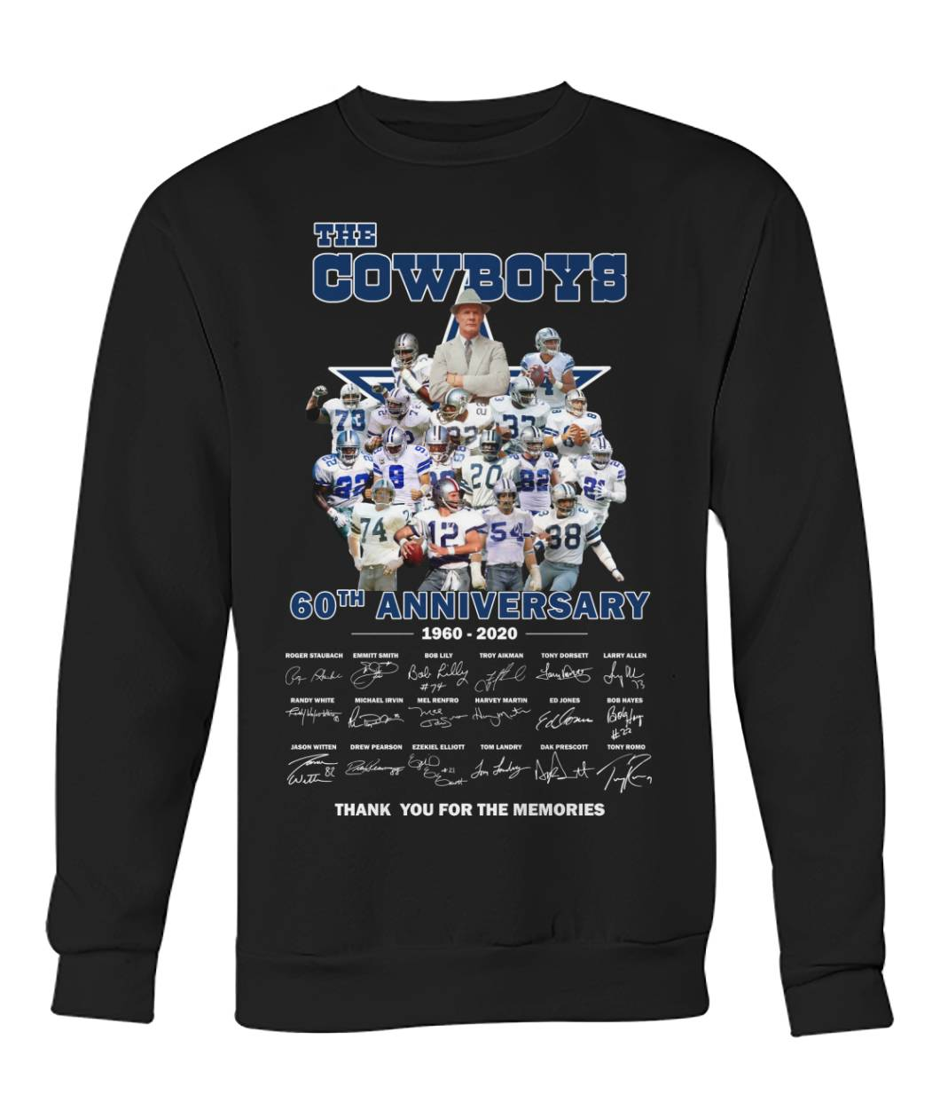 The cowboys 60th anniversary thank you for the memories