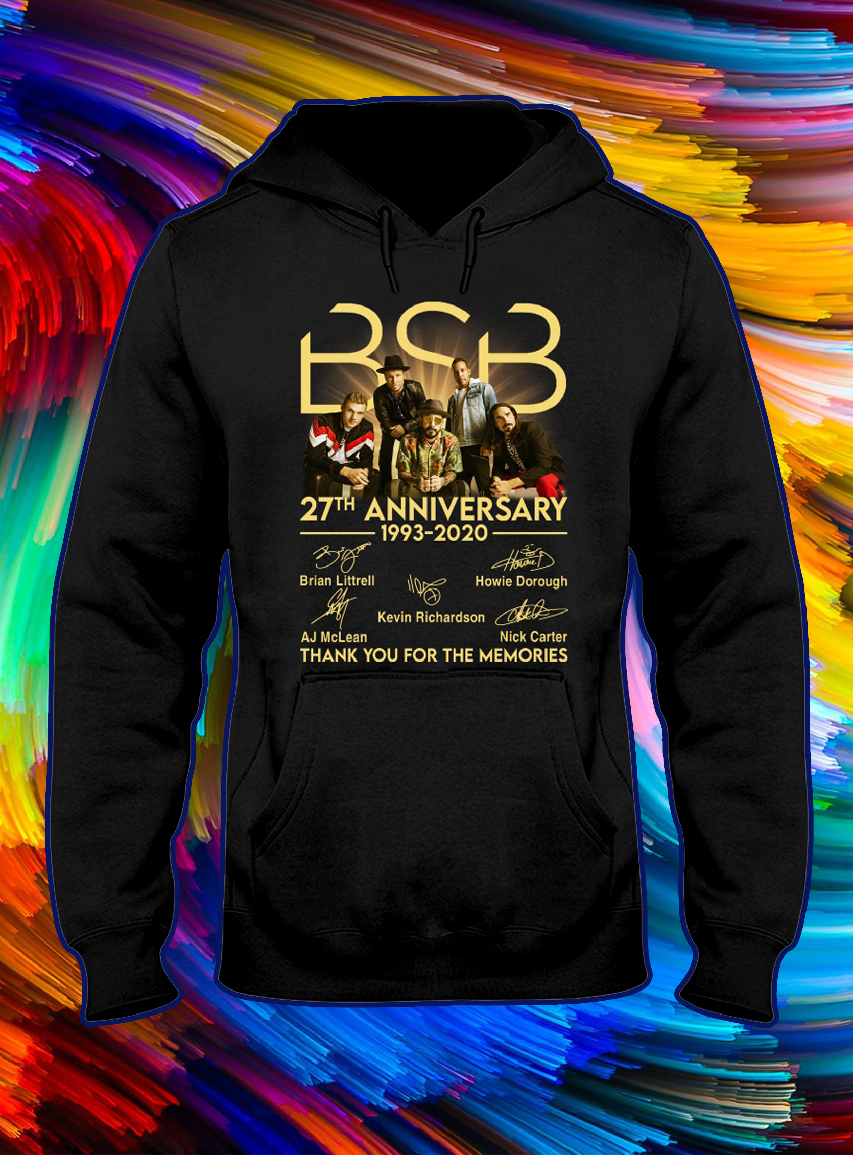 BSB 27th anniversary thank you for the memories signature hoodie