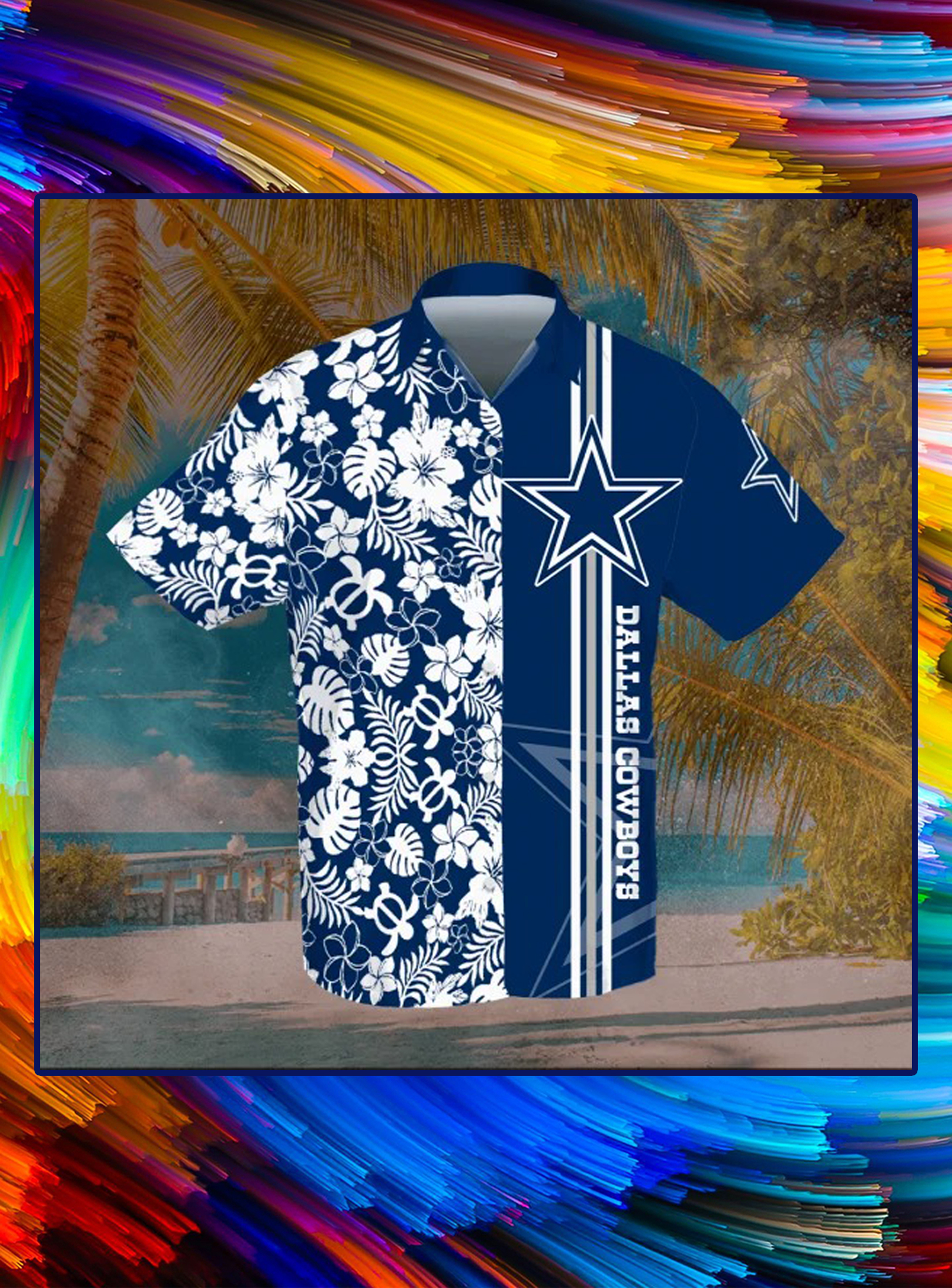 Dallas cowboys hawaiian shirt