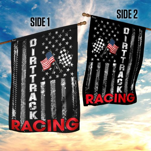 Dirt track racing flag