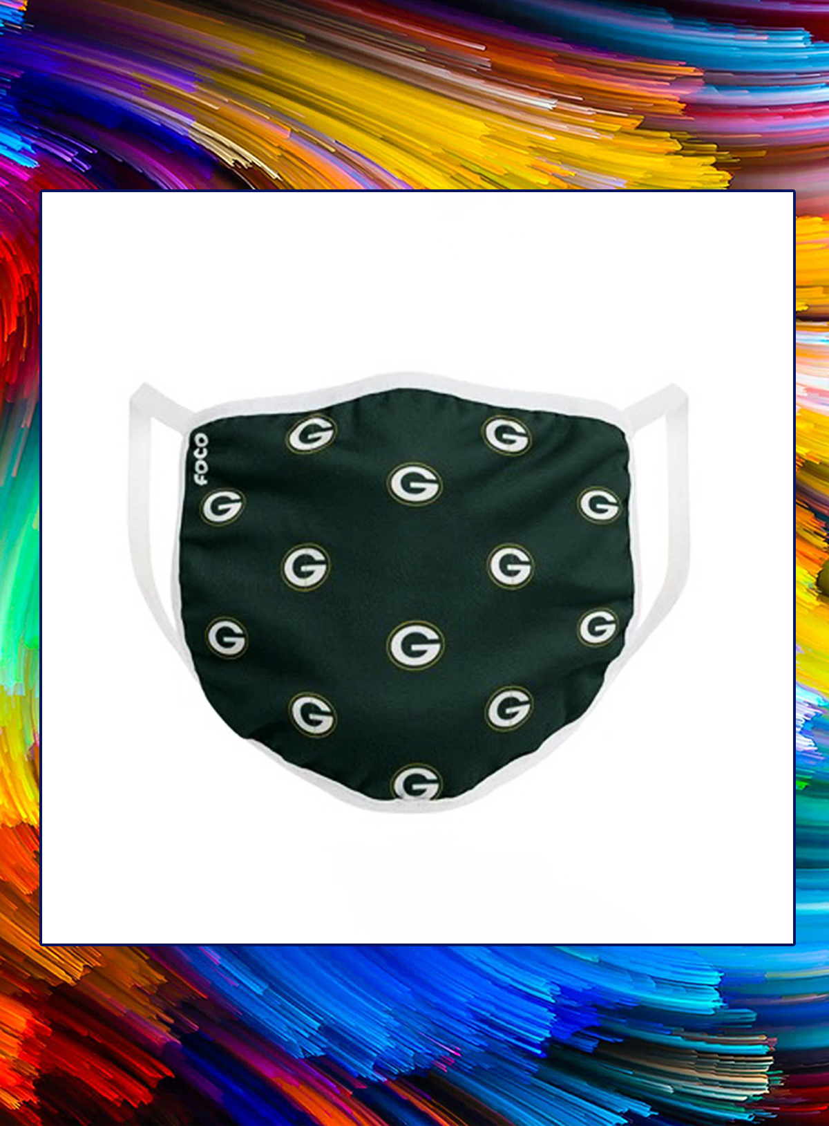 Green bay packers nfl cloth mask - Picture 1