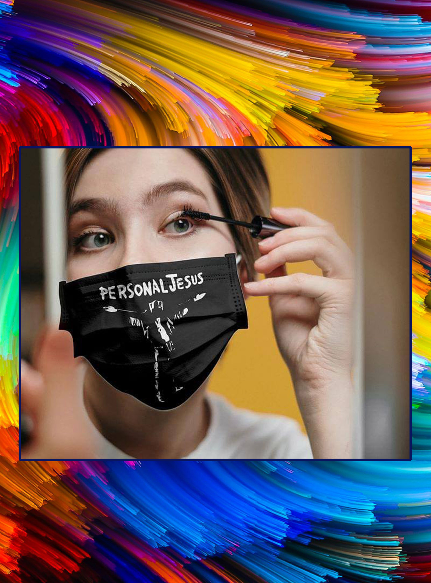 Personal jesus face mask - pic 1