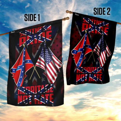 Southern pride heritage not hate confederate flag