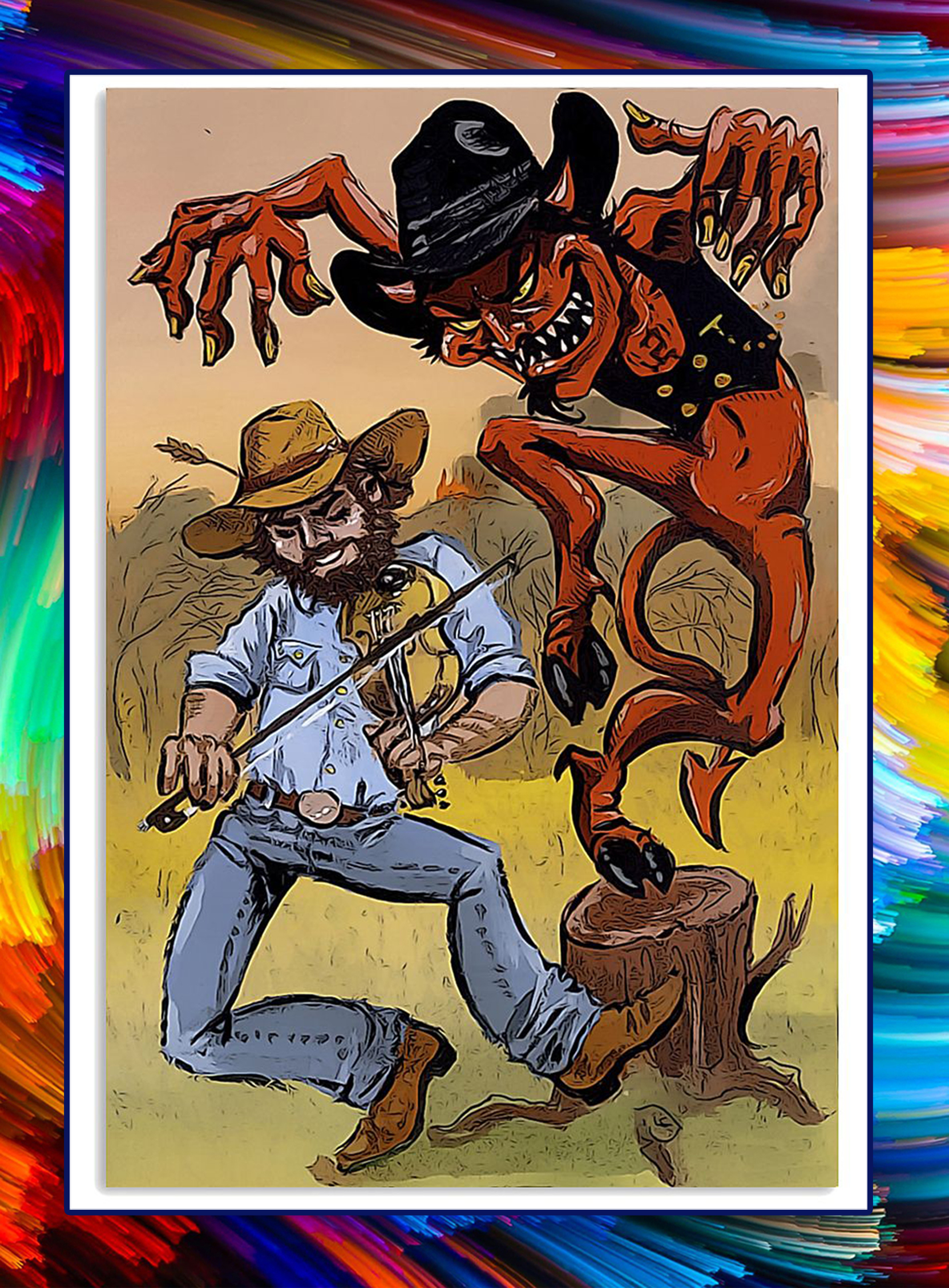 The Devil Went Down To Georgia poster - A1