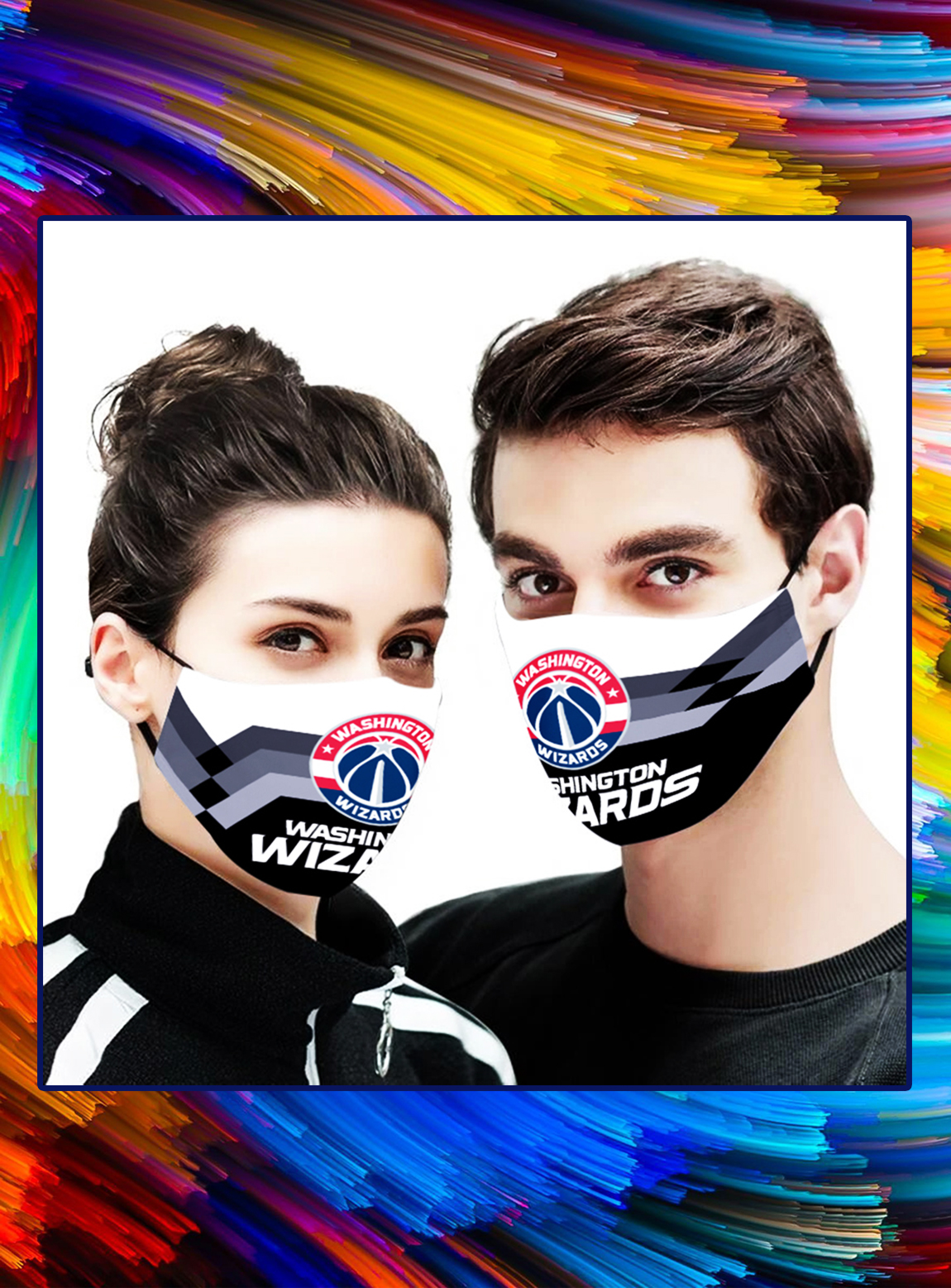 Washington Wizards NBA face mask - Picture 1