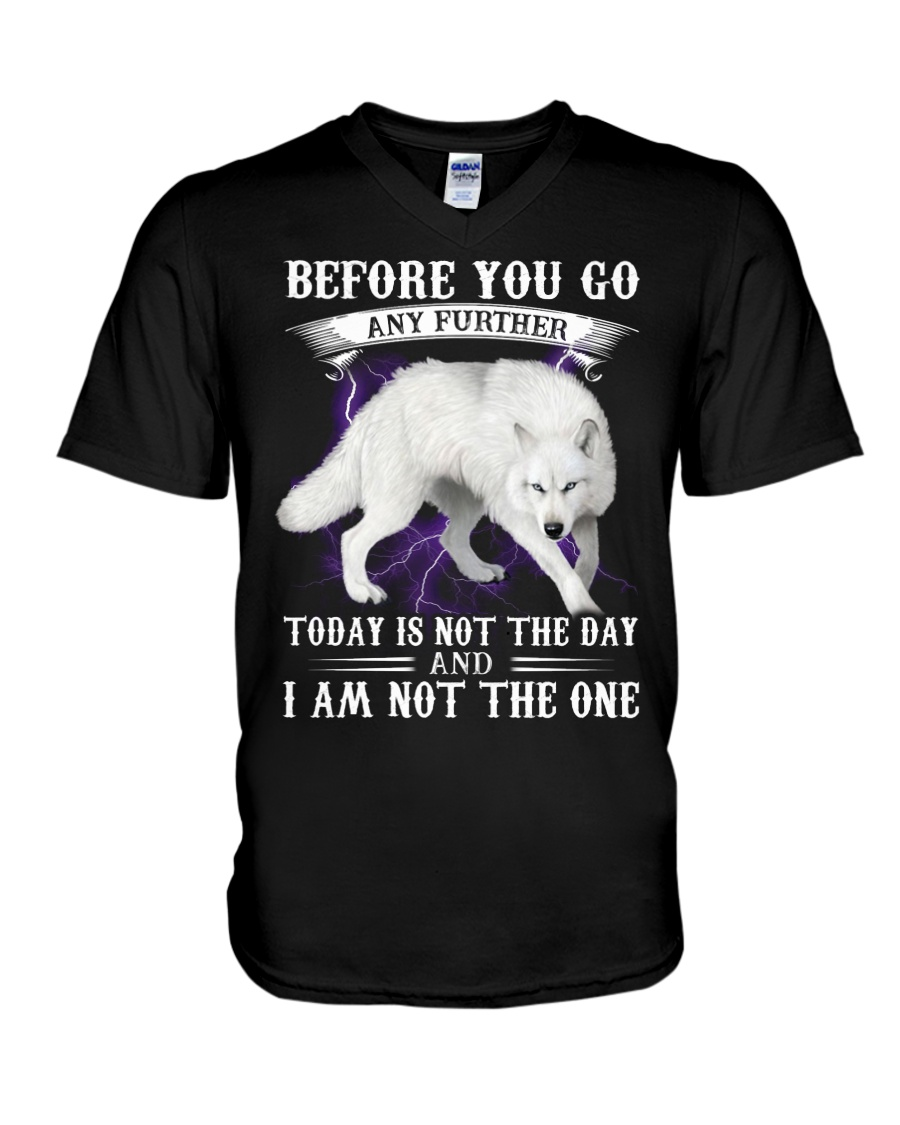 Wolf Before you go any further today is not the day and i'm not the one