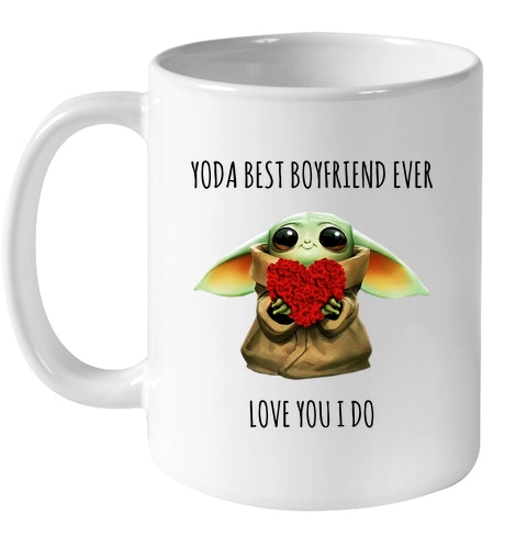 Yoda best boyfriend ever love you i do mug
