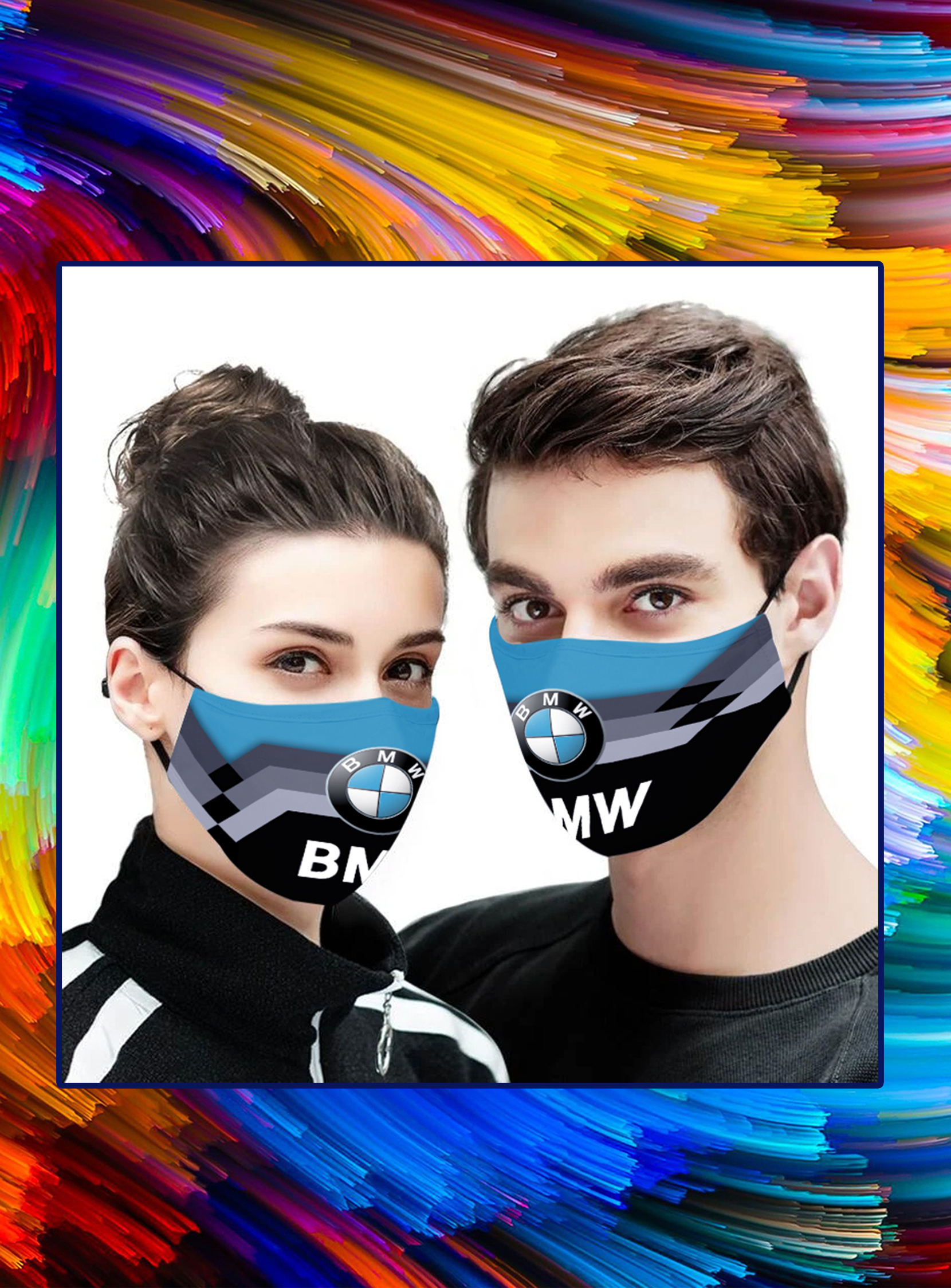 BMW face mask- pic 1