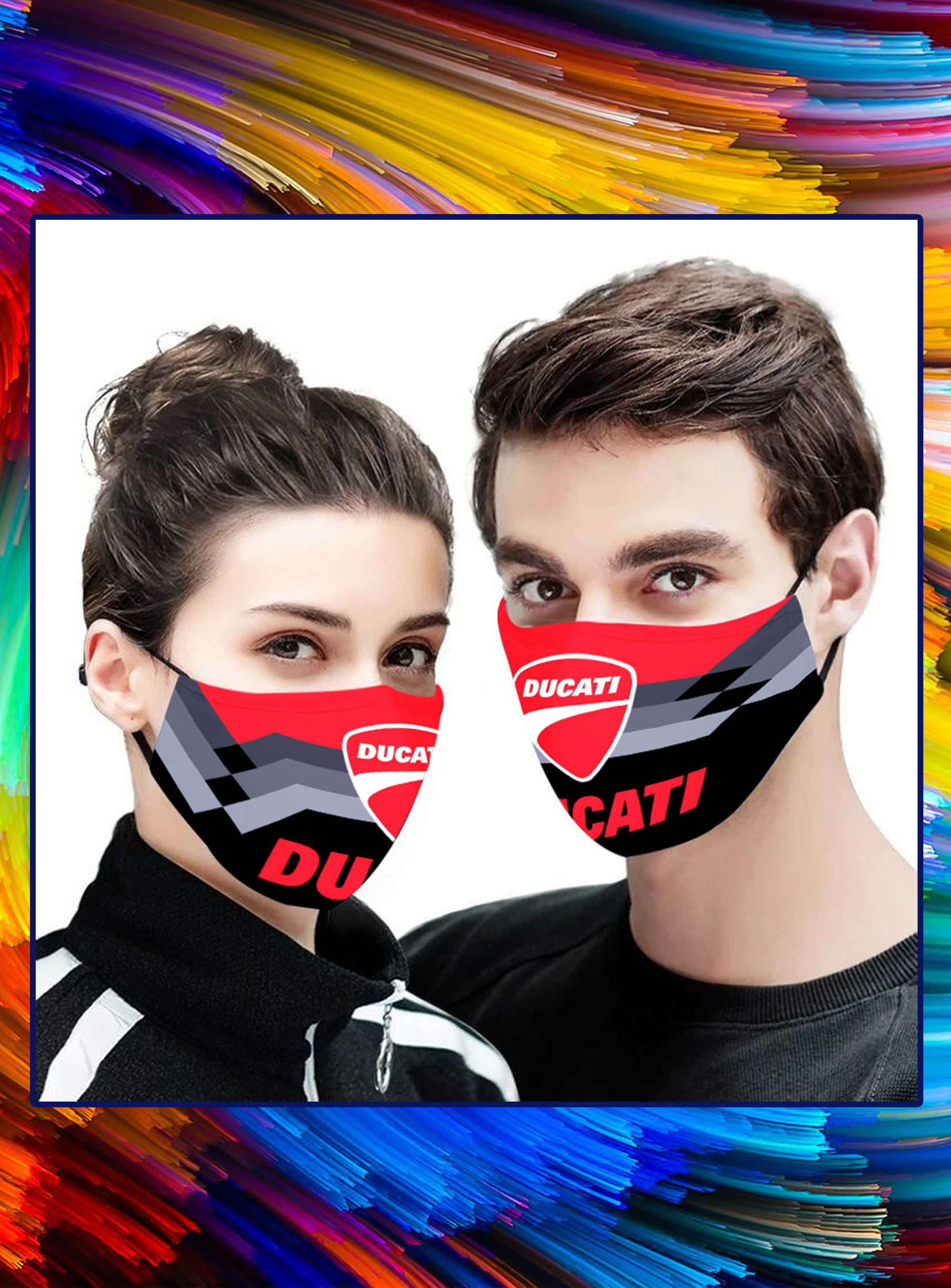 Ducati face mask- pic 1