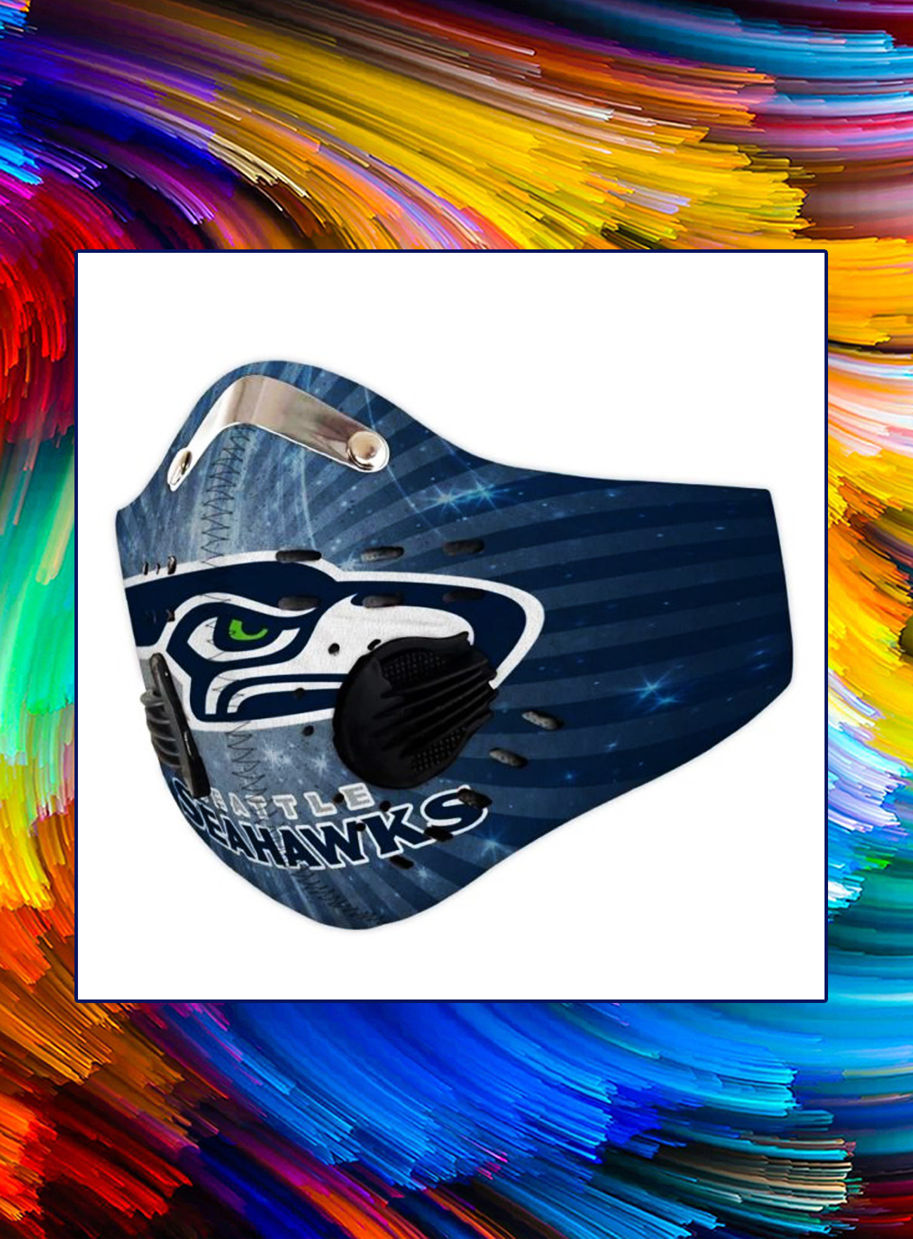 Filter face mask seattle seahawks