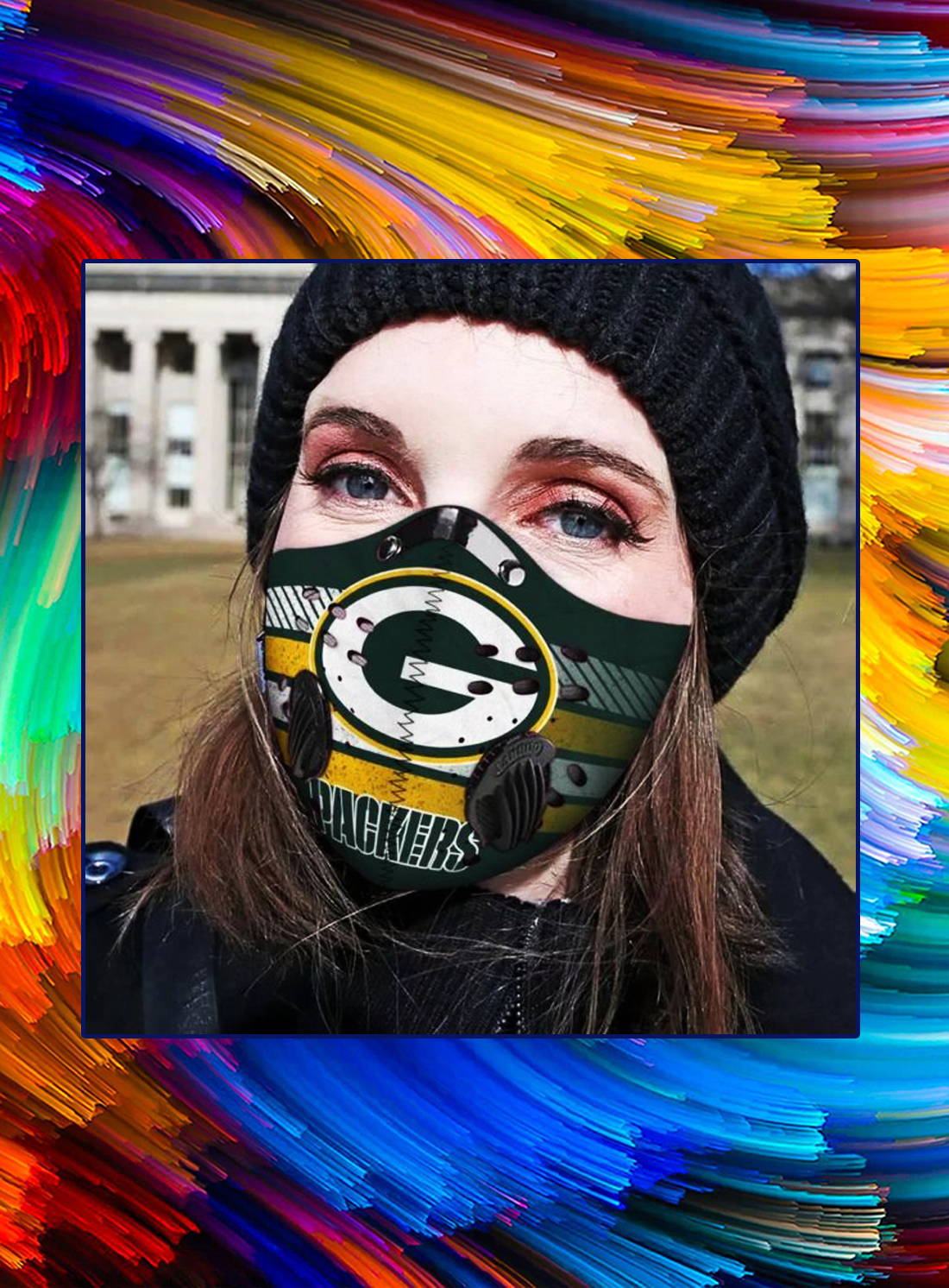Green bay packers filter face mask - Picture 1