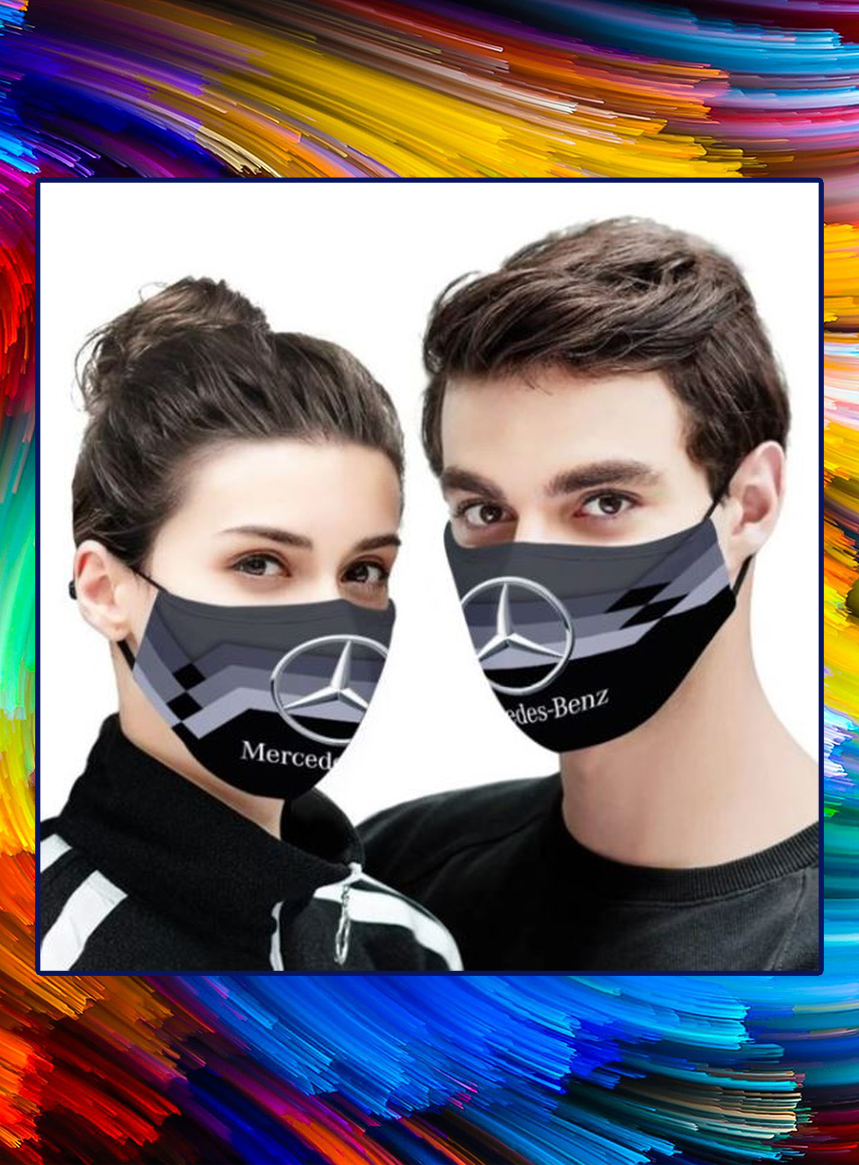 Mercedes-Benz face mask - pic 1